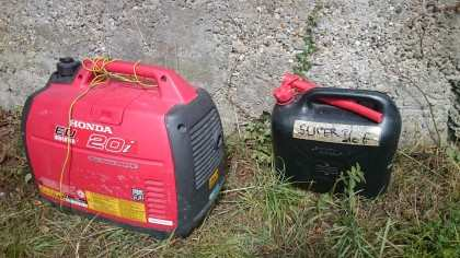 our generator is always fine and 100% working without any trouble even it's not noisy...