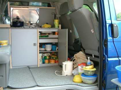 our portable kitchen...