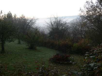 quite foggy in the valley...