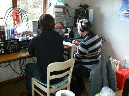 DO1FLO and DH2ES on air...