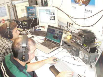 Ricardo and Stefan on air…